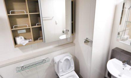 Smeekbede voordat je het toilet binnengaat